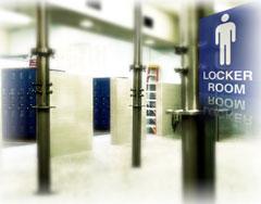 Boys Locker Room Shower