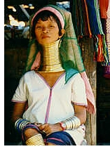 Longneck woman from Paduang tribe