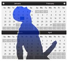Calendar of Bigger Penis