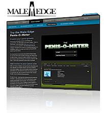 Male Edge Penis-O-Meter