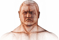 Man with Thick Neck